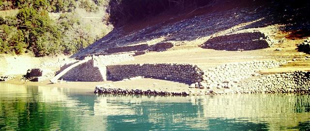 奈良県・池原ダム (ボートポイント場所紹介) 34
