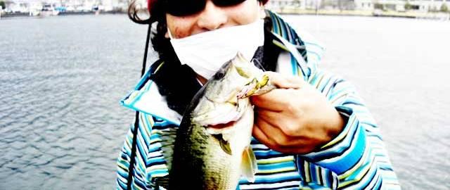 琵琶湖バスフィッシングガイドリポート ~川様~ 35cm 13