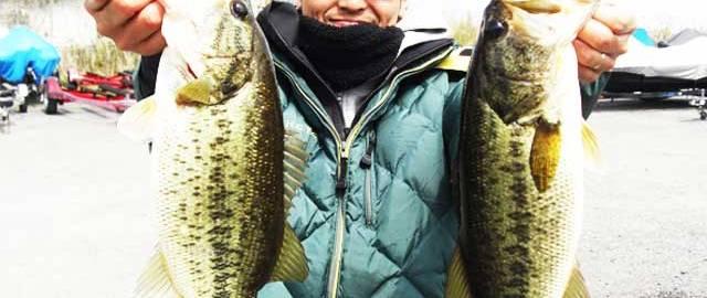 琵琶湖バスフィッシングガイドリポート ~竹中様~ 43cm 16