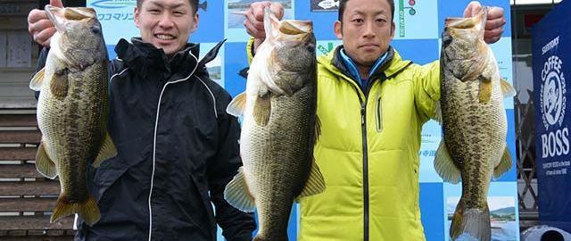 琵琶湖春爆釣果 写真