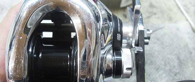 シマノ 12 アンタレス メンテナンス修理 写真