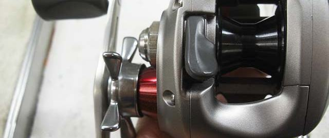 ダイワ TD-Z 103HL Type-R 修理 写真