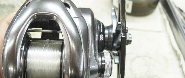 シマノ 15 メタニウム DC 修理写真