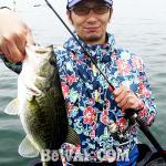 琵琶湖バスフィッシングガイドリポート ~住野様~ 38cm