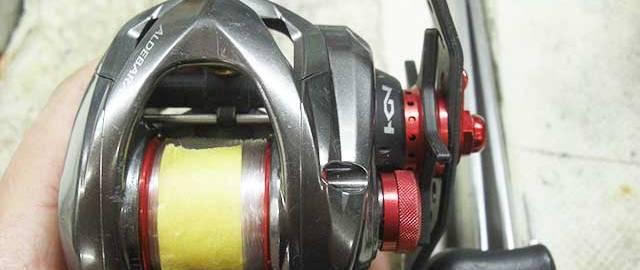 シマノ 16 アルデバランBFX XG 洗浄分解 写真