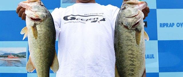 琵琶湖 夏7月の釣り方 写真