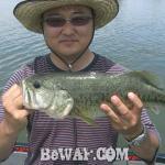 琵琶湖バスフィッシングガイドリポート ~千都様~ 45cm