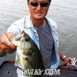 琵琶湖バスフィッシングガイドリポート ~岩本様~ 30cm