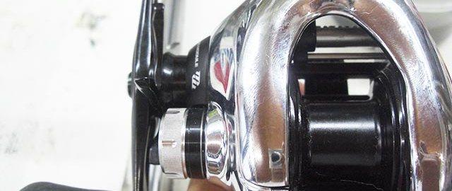 シマノ 12 アンタレス オーバーホール修理 写真
