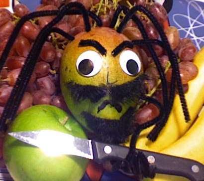 The Hairy Mango himself.
