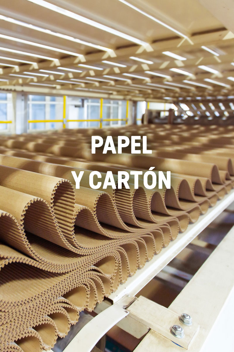 papel y carton - Bewat - Tratamiento de Aguas Residuales y Potables