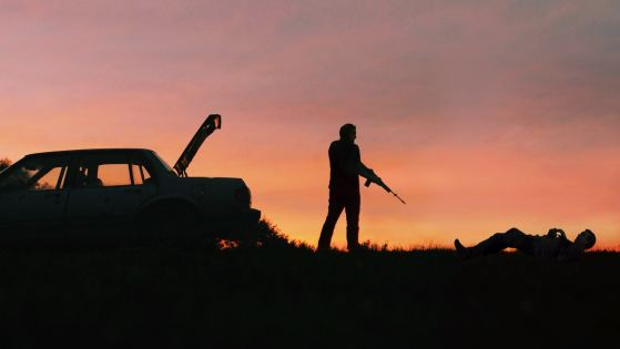 Scene from the movie Blue Ruin