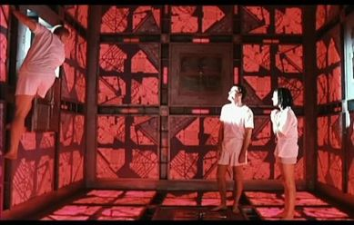 A scene from the movie Cube