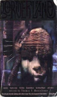 Borderlands cover by Dave McKean