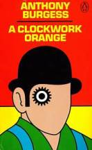 cover of a clockwork orange by anthony burgess