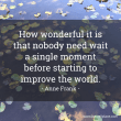 Improve The World - Anne Frank - Facebook