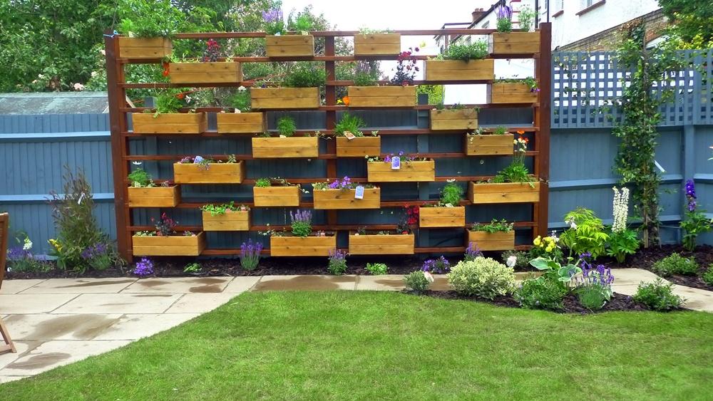 Planter Box Designsbuild It With Redwood Horizontal Paneled Herb