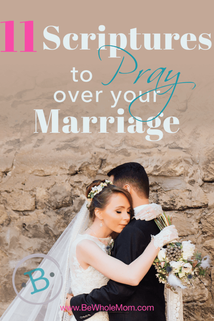 11 Scriptures to Pray Over Your Marriage; May we always bring our marriages before our Abba for fortification and strengthening. In Him we remain united and one.