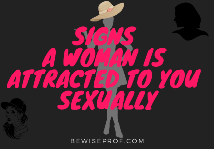 Signs a woman is attracted to you sexually