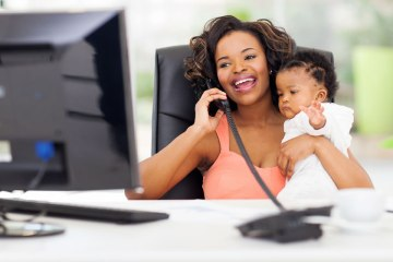 A way to work and nevertheless be a great mum