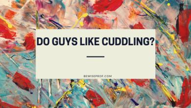 Photo of Do guys like cuddling?