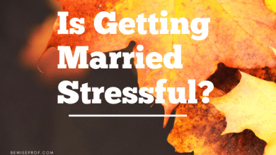 Photo of Is getting married stressful?