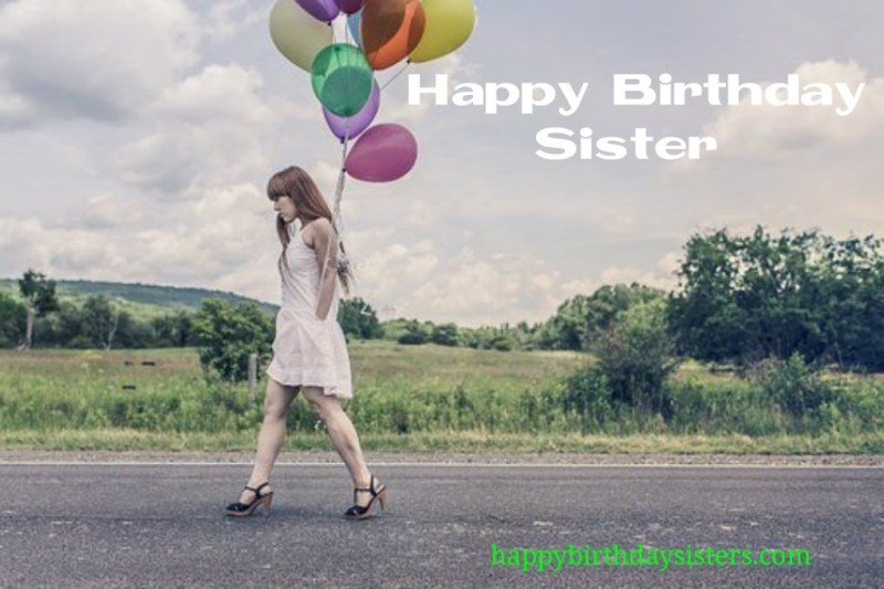 happy birthday letter sister