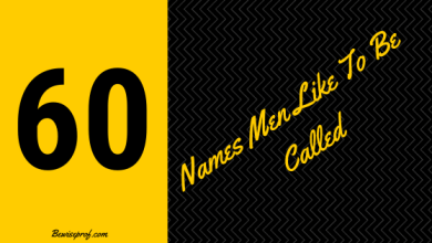 Photo of 60 Names Men Like To Be Called