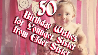 Photo of Birthday Wishes for Younger Sister