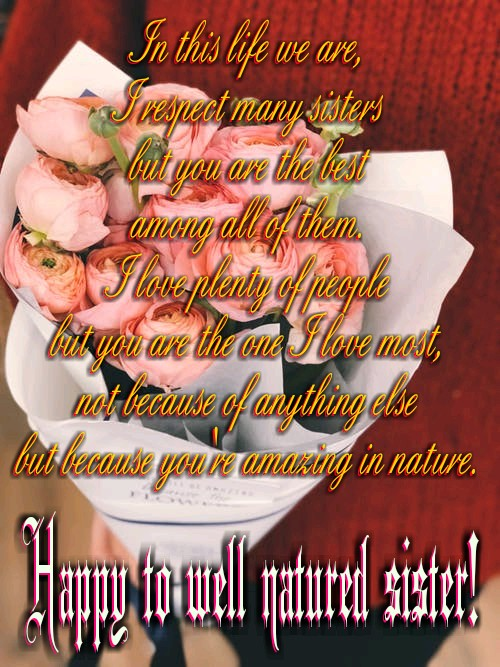 Birthday Wishes image for Sisters