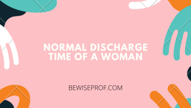 Photo of Normal discharge time of a woman