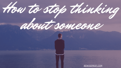 Photo of How to stop thinking about someone