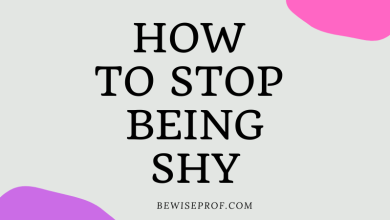 Photo of How to stop being shy