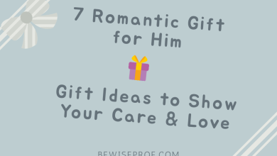 Photo of 7 Romantic Gift for Him: Gift Ideas to Show Your Care & Love