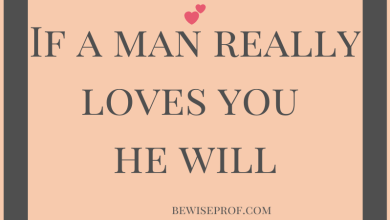 Photo of If a man really loves you he will
