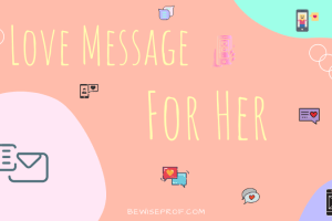 Love message for her