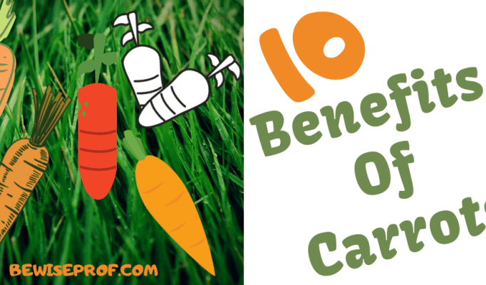10 Benefits Of Carrots