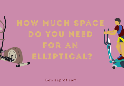 How much space do you need for an elliptical