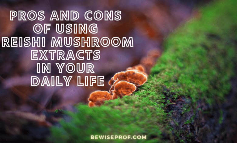 Pros and Cons of Using Reishi Mushroom Extracts In your Daily Life