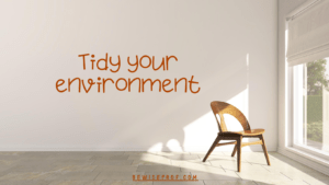 Tidy your environment