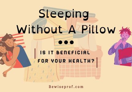 Sleeping Without a Pillow