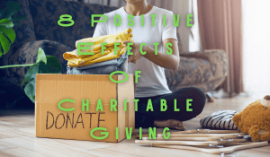 8 Positive Effects Of Charitable Giving