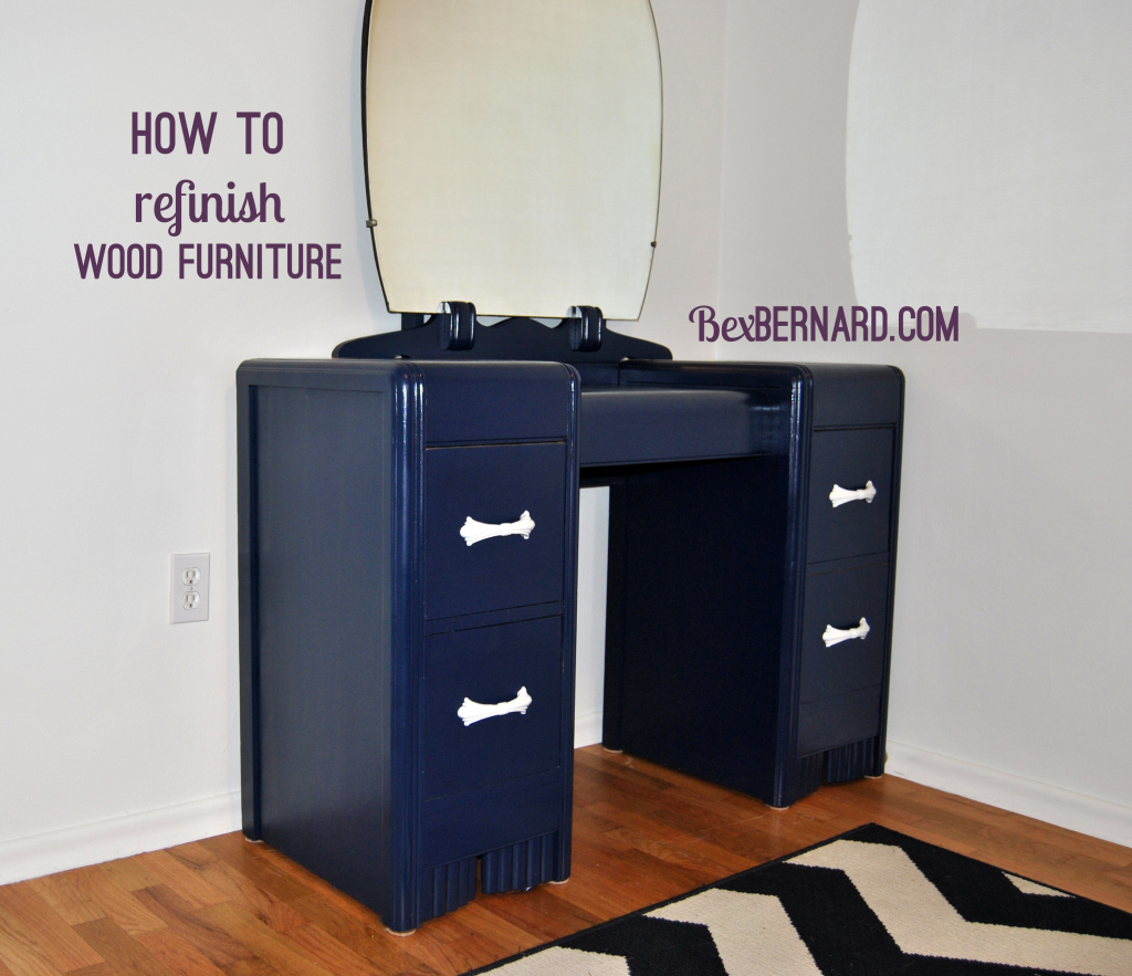 how to refinish wood chairs swivel chair rpa furniture desk dresser vanity