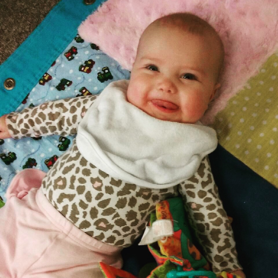 5 month old baby girl - BexBernard