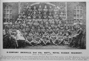 B Company [Bexhill] 2nd Volunteer Battalion Chronicle 1918 14 Dec
