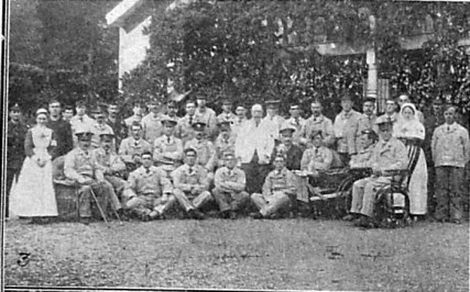 Normanhurst patients and nurses. Christmas 1st january 1916 Chronicle
