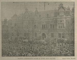 Armistice, Town Hall Bex Chron 16.11.1918