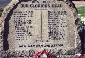 Little Common Memorial - names