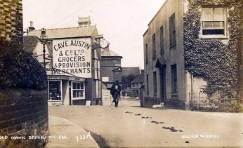 Cave Austins, Bexhill Old Town c1912