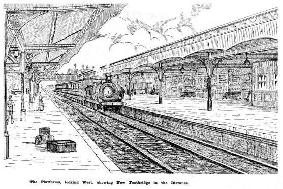 Central Station sketch 1902